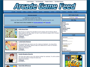 Arcade Game Feed