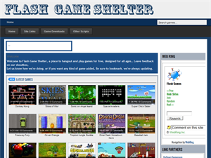 Flash Game Shelter