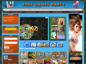 Free Games Party
