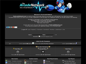 The Arcade Network - Free Online Arcade Games