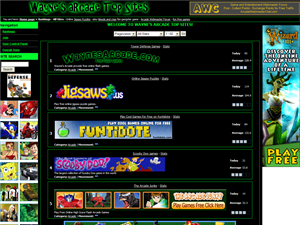 Wayne's Arcade Top Sites