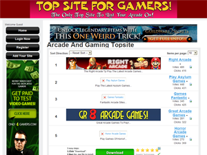 Top Site For Gamers